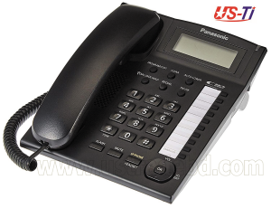Original Panasonic KX-TS880MX Black/White Phone Set
