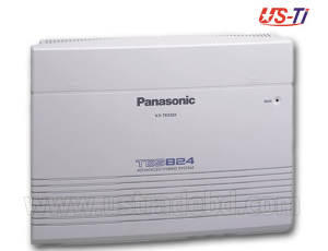 PBX System with 24-port extensions and automatic call routing Panasonic KX-TES824