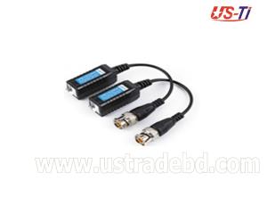 Video Balun 1 Pair Passive Data Transmitter Best Quality