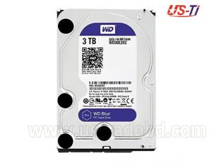 """WD Blue 3TB PC Hard Drive - 5400 RPM Class, SATA 6 Gb/s, 64 MB Cache, 3.5"""" - WD30EZRZ"""