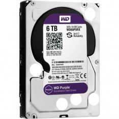 "Western Digital 6TB 3.5"" Purple surveillance HDD"