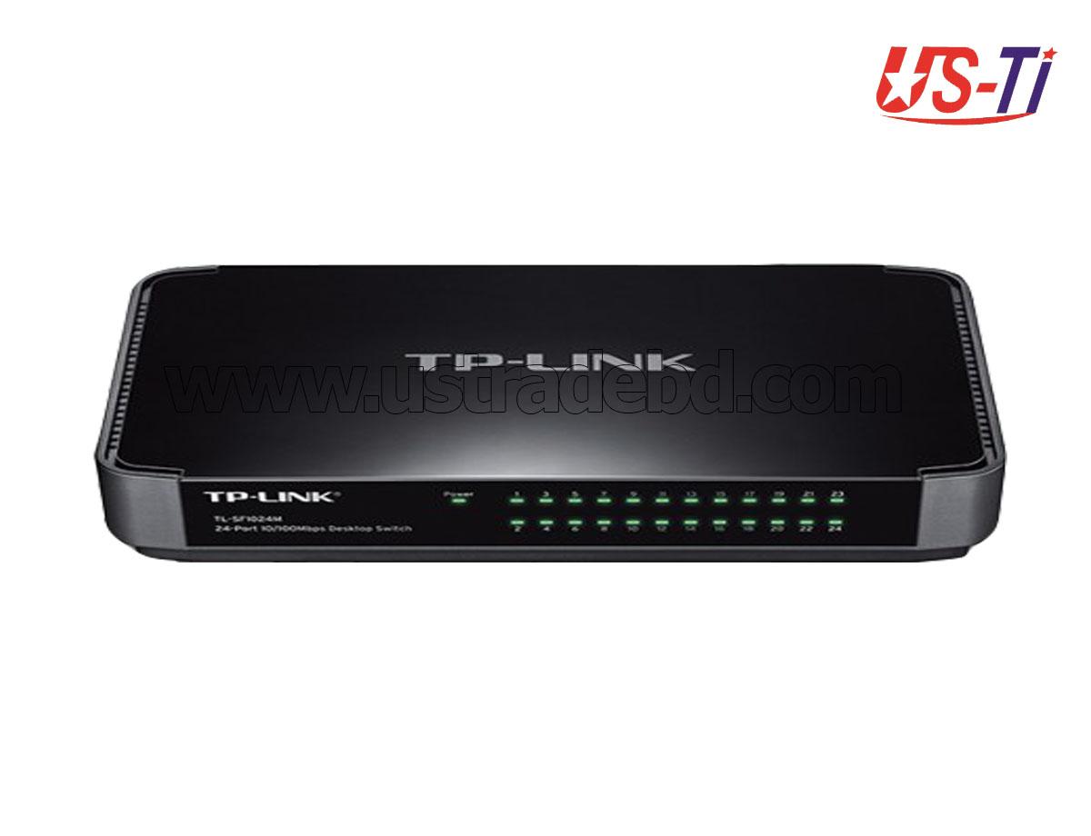 TP-LINK TL-SF1024M 24-Port 10/100Mbps Desktop Switch
