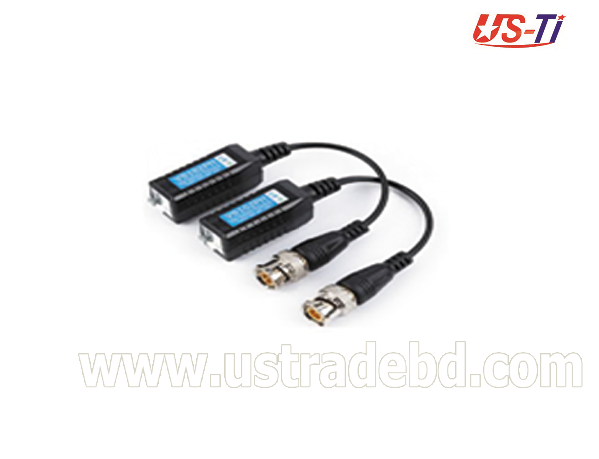 Video Balun 1 Pair Passive Data Transmitter Best Quality