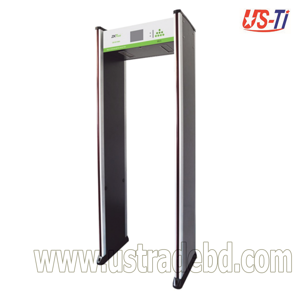 Walk Through Metal Detector ZK-D2180S 18 Zones Standard